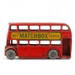 Matchbox England no5, London buss 50-tal.